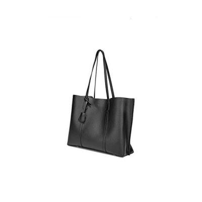 Women Tote Bags Top Handle Satchel PU Pebbled Leather Tassel Shoulder Purse, Big Capacity Tassel Woman(Black)【並行輸入品】