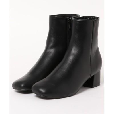 MELROSE claire / スクエアトゥショートブーツ WOMEN シューズ > ブーツ