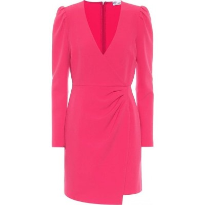 レッド ヴァレンティノ REDValentino レディース パーティードレス ワンピース・ドレス Stretch-crepe minidress Hot Pink