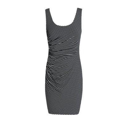 BAILEY 44 ミニワンピース&ドレス ブラック M レーヨン 96% / ポリウレタン 4% ミニワンピース&ドレス