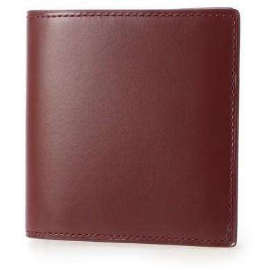 サトリ SATOLI コンパクト二つ折財布 (ワイン)