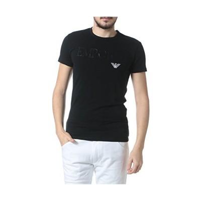 (エンポリオアルマーニ) EMPORIO ARMANI フロントロゴ クルーネック 半袖 アンダーTシャツ [【EA111035CC716】] ブラ?