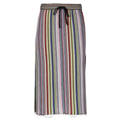 マルケスアルメイダ MARQUES' ALMEIDA 7分丈スカート グリーン S ウール 100% 7分丈スカート