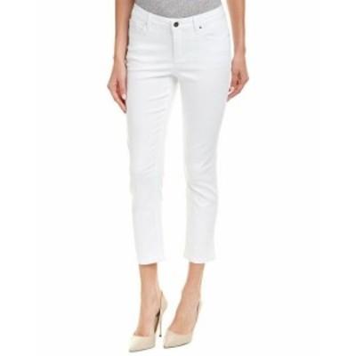 Jones New York ジョーンズニューヨーク ファッション パンツ Jones New York Madison Soft White Skinny Crop 12 White