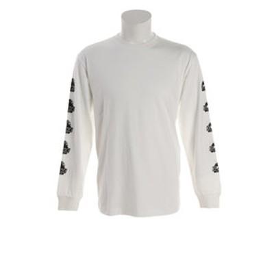 Tシャツ メンズ 長袖  BEHIND OG 01193110-WHITE