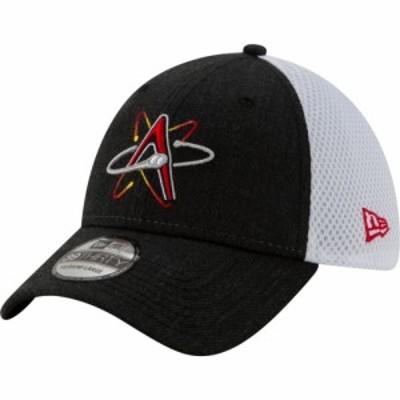 ニューエラ New Era メンズ キャップ 帽子 Albuquerque Isotopes Black 39Thirty Heather Neo Stretch Fit Hat