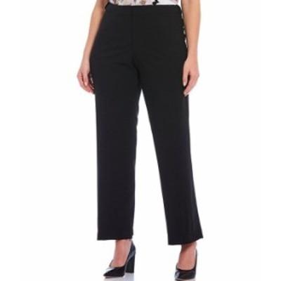 カルバンクライン レディース カジュアルパンツ ボトムス Plus Size Lux Stretch Suiting Modern Fit Highline Ankle Tapered Leg Pants