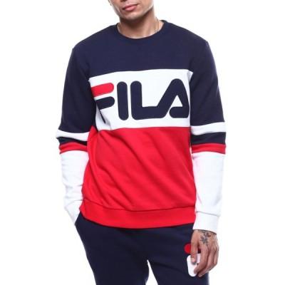 フィラ Fila メンズ スウェット・トレーナー トップス freddie sweatshirt Red