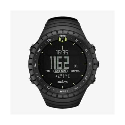 スント メンズ用腕時計 Suunto Men's Core All Black SS014279010 Resin Quartz Sport Watch