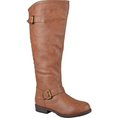 ジュルネ コレクション Journee Collection レディース ブーツ シューズ・靴 Spokane Boot - Wide Calf Chestnut