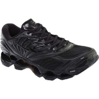 ミズノ スニーカー シューズ メンズ Wave Prophecy 8 Running Shoe (Men's) Black/Black