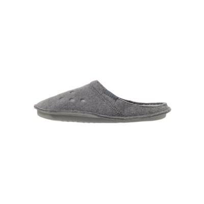 クロックス サンダル メンズ シューズ CLASSIC - Slippers - charcoal