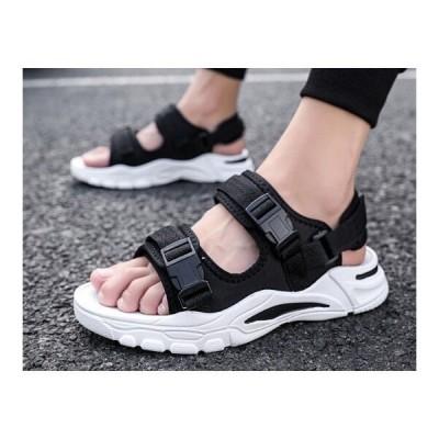サンダルメンズおしゃれスポーツサンダル靴ビーチサンダルスリッパかっこいい2020夏 メンズ