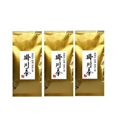 【静岡お茶のだいさん】静岡深蒸し茶 特選 掛川茶100g3本パック
