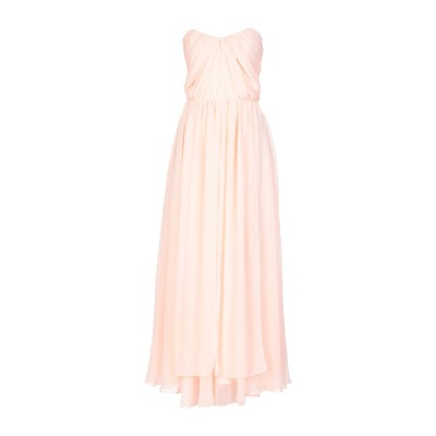 BY MALINA ロングワンピース&ドレス ピンク L ポリエステル 95% / ポリウレタン 5% ロングワンピース&ドレス