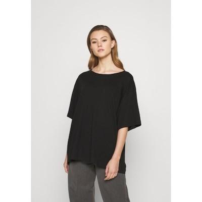 ウィークデイ Tシャツ レディース トップス REBECCA - Basic T-shirt - black