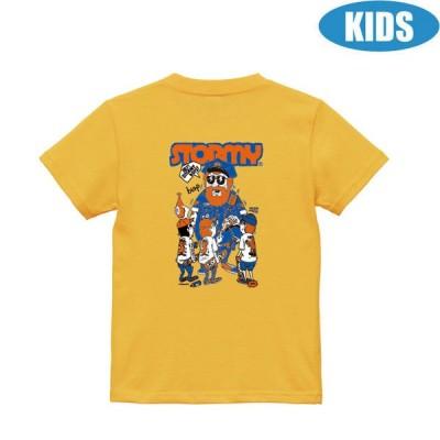 ストーミー STORMY キッズ tシャツ TM Paint COLLABORATION KIDS SS T-SHIRTS BANANA 半袖Tシャツ 子供