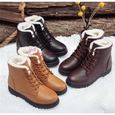 スノーブーツ レディース ブーツ 裏ボア ショートブーツ 冬 滑り止め 靴 防寒ブーツ シューズ