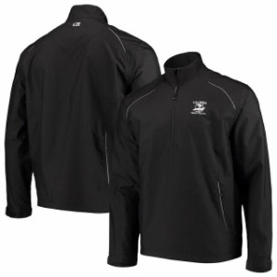 Cutter & Buck カッター アンド バック スポーツ用品  Mens 2019 U.S. Open Cutter & Buck Black WeatherTec Beacon Half-Zip Pullover J