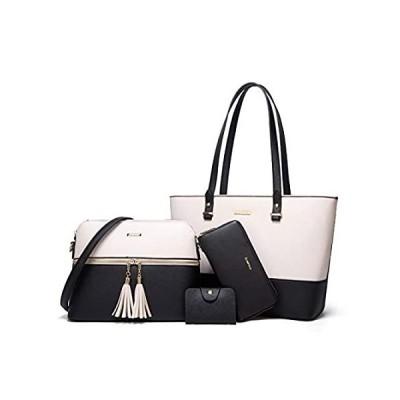 Women Fashion Synthetic Leather Handbags Tote Bag Shoulder Bag Top Handle S