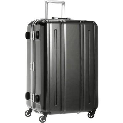 [エバウィン] 軽量スーツケース Be Light 静音キャスター 94L 68 cm 4.5kg ブラックカーボン