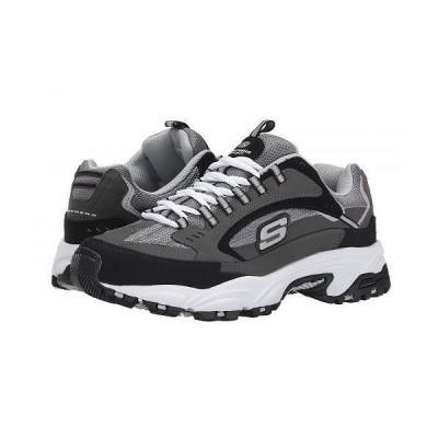 SKECHERS スケッチャーズ メンズ 男性用 シューズ 靴 スニーカー 運動靴 Stamina Cutback - Charcoal/Black
