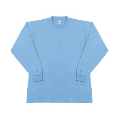 桑和(SOWA) 長袖 Tシャツ 209/サックス M〜3Lサイズ 0002 作業着 作業服 ワークウェア ウエア トップス メンズ