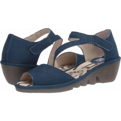 フライロンドン FLY LONDON レディース サンダル・ミュール シューズ・靴 PONA156FLY Blue Cupido