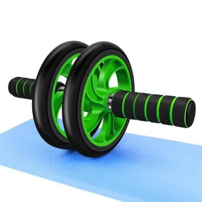 腹筋ローラー 筋トレ 女性 アシスト マット付き 静音 青 ブルー 緑 グリーン お家トレーニング