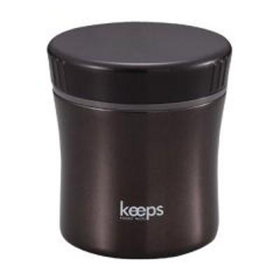 10%OFFクーポン対象商品 保温弁当箱 スープジャー フードマグ キープス 400ml ブラック ( お弁当箱 ランチジャー スープポット 保温 保冷 弁当箱 ランチボックス ランチポット フードポット ) クーポンコード:52RFBAW