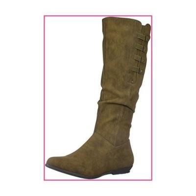 CLIFFS BY WHITE MOUNTAIN Women's Fordham Knee High Boot, Brown, 6 Medium US並行輸入品
