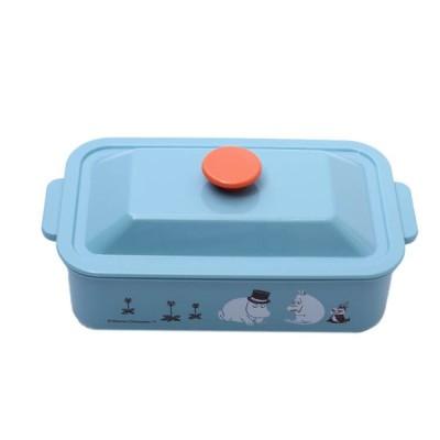 お弁当箱 ムーミン ココット風ランチボックス ムーミン カラー/LCO5 かわいい 可愛い ココット風 お弁当箱 ふんわり盛れる ドーム型弁当箱 ドーム型フタ