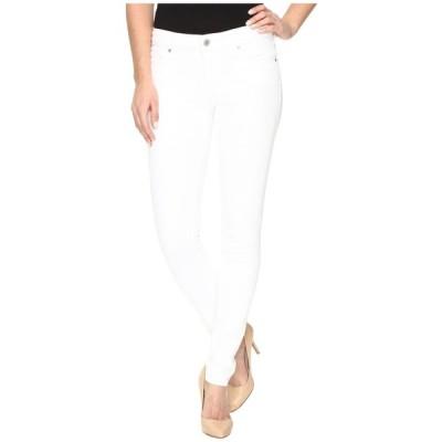 リーバイス Levi's Womens レディース スキニー・スリム ボトムス・パンツ 711 Skinny Soft Clean White