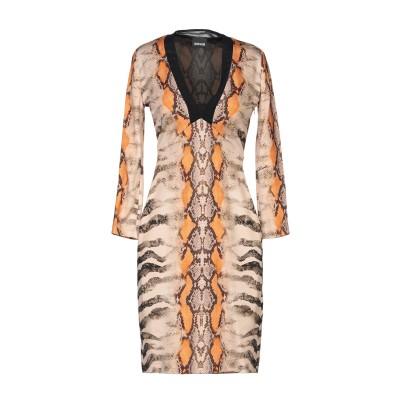 ジャストカヴァリ JUST CAVALLI ミニワンピース&ドレス サンド 36 レーヨン 92% / ポリウレタン 8% ミニワンピース&ドレス