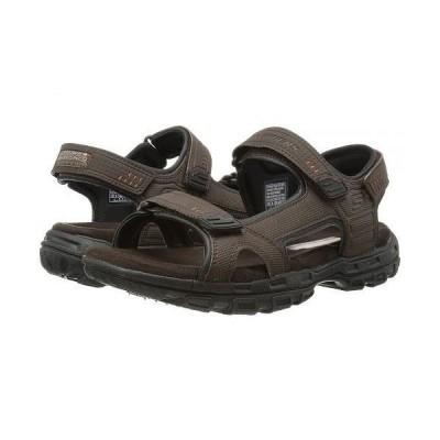 SKECHERS スケッチャーズ メンズ 男性用 シューズ 靴 サンダル Gander Louden - Brown