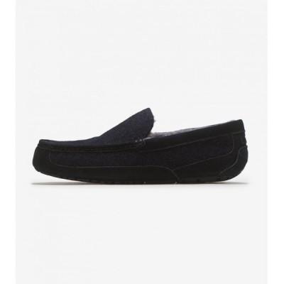 アグ Ugg メンズ ブーツ シューズ・靴 Ascot Wool Black TNL