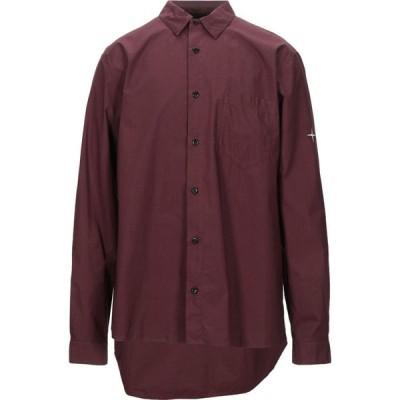 ストーンアイランド STONE ISLAND メンズ シャツ トップス Solid Color Shirt Maroon