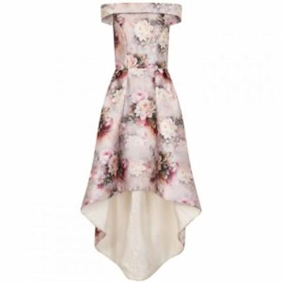 チチ Chi Chi レディース ワンピース ワンピース・ドレス Floral Print Dip Hem Dress Mink