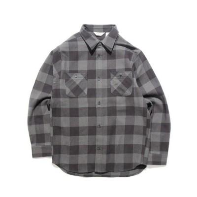 シャツ ブラウス FIVE BROTHER/ファイブブラザー HEAVY FLANNEL WORK SHIRTS フランネルチェックシャツ