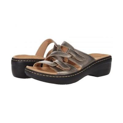 Clarks クラークス レディース 女性用 シューズ 靴 ヒール Merliah Karli - Metallic Leather