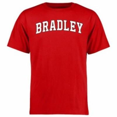 Fanatics Branded ファナティクス ブランド スポーツ用品  Bradley Braves Red Everyday T-Shirt
