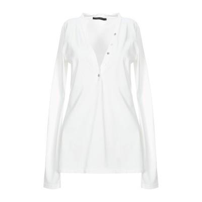 メッサジェリエ MESSAGERIE T シャツ ホワイト M コットン 100% T シャツ