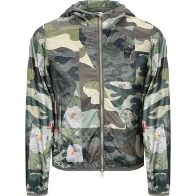 ブラウアー BLAUER メンズ ジャケット アウター jacket Green