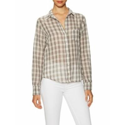 ベルベットグラハム&スペンサー レディース トップス シャツ Plaid Cotton Button Up Shirt