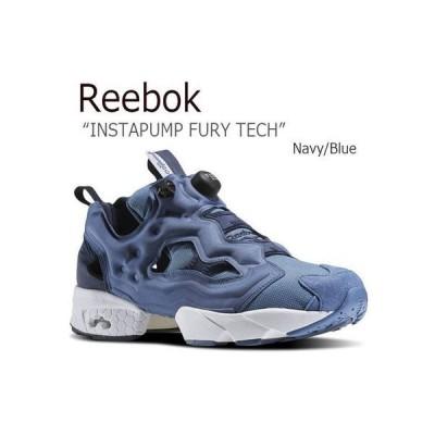 Reebok リーボック INSTAPUMP FURY TECH Navy Blue ネイビー ブルー テック ポンプフューリー AR0624