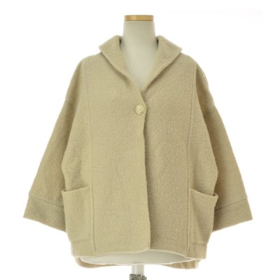 maomade / マオメイド 圧縮ウール 変形ワイドジャケット ウールジャケット