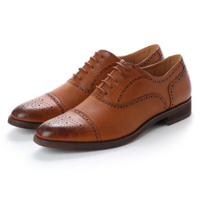 ミッドランドフットウェアーズ Midland Foot Wears midland footwears 0003 外羽根ハーフブローグ (タン)