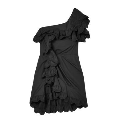 イザベル マラン ISABEL MARANT ミニワンピース&ドレス ブラック 38 コットン 100% ミニワンピース&ドレス