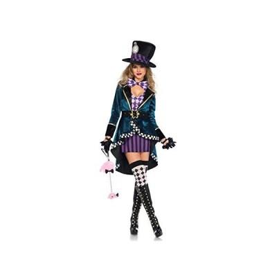 マッドハッター コスチューム 不思議の国のアリス ハロウィン 衣装 コスプレ 仮装 大人 レディース