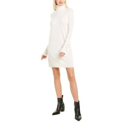 エキプモン ワンピース トップス レディース Equipment Oscar Sweaterdress ivory